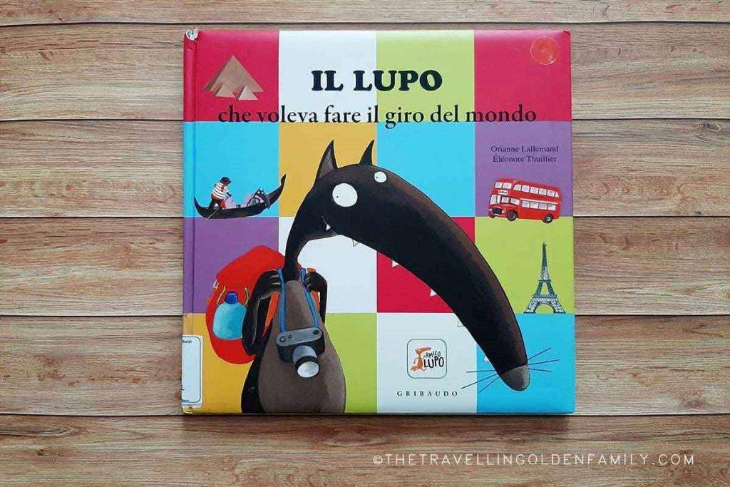 libro per bambini lupo in viaggio