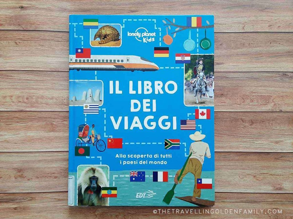 libro per bambini dei viaggi