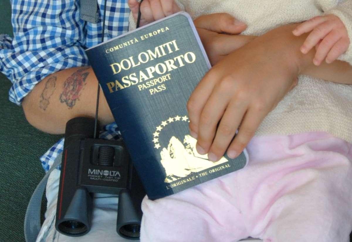 passaporto delle dolomiti